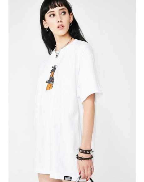 Lies Anime Girl Tee
