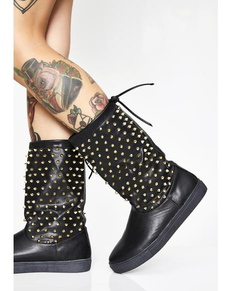 Reigning Bish Studded Rain Boots