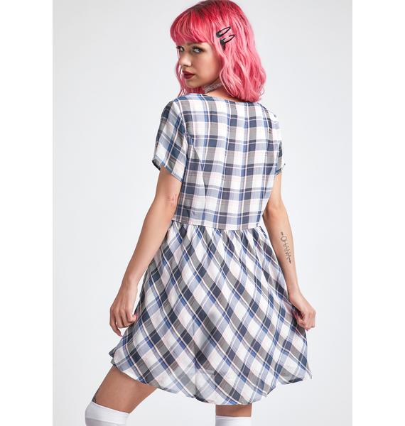dELiA*s by Dolls Kill Officially Don't Care Babydoll Dress