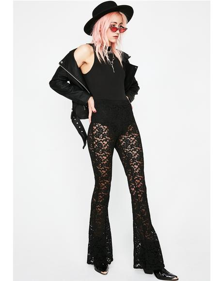 See All Evil Lace Jumpsuit