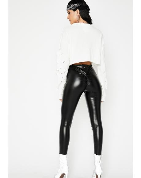 Daily Slay Ruched Leggings