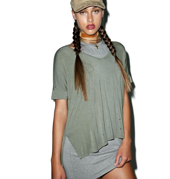 Bulletproof Distressed T-shirt