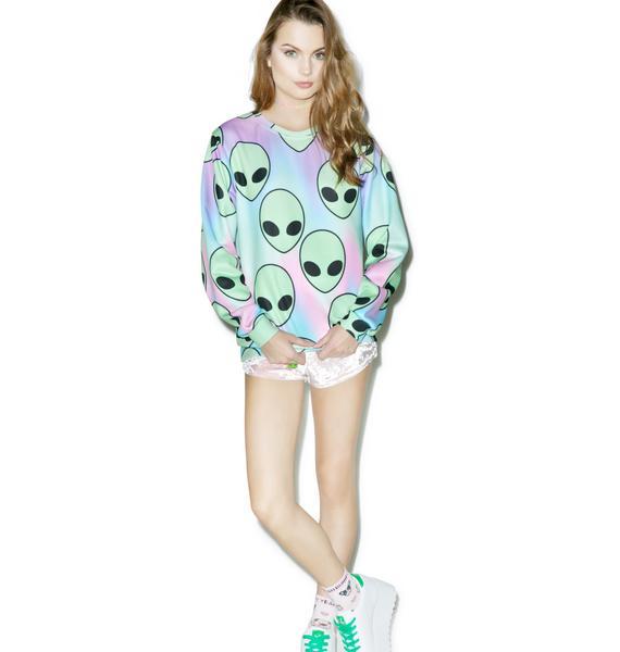 Sugarpills Space Sherbert Sweatshirt