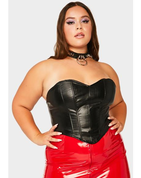 Always Save Your Pride Corset Top