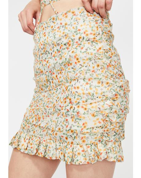 Prairie Princess Mini Skirt