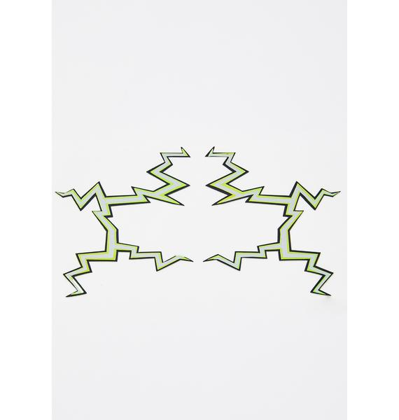 Face Lace Thor-Adore Eye Stickers