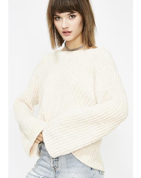 Honey Trap Chenille Sweater