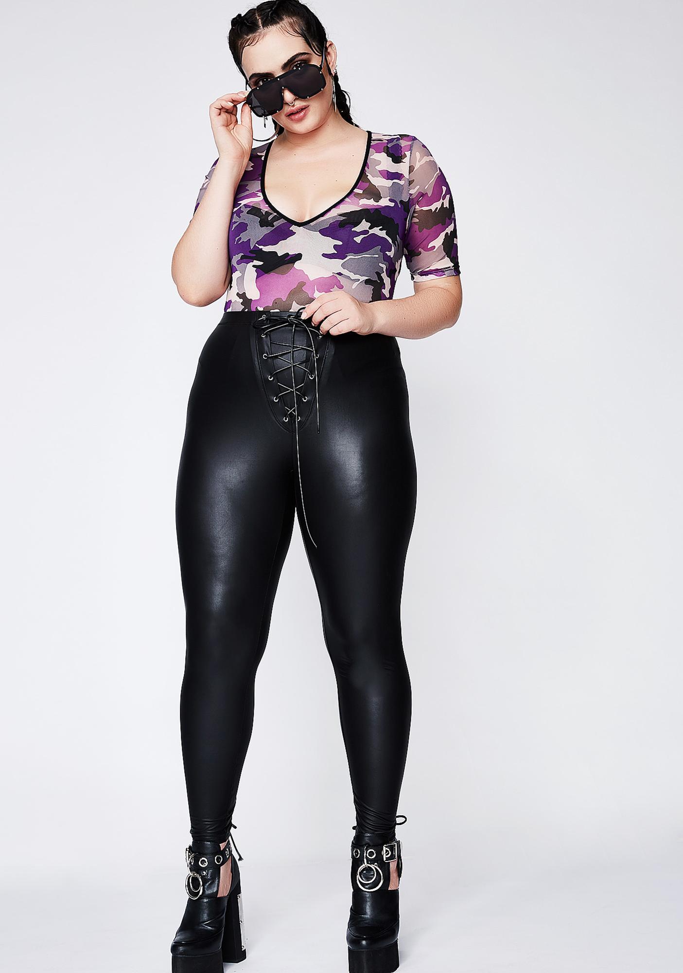 Poster Grl Surprise Ambush Camo Bodysuit