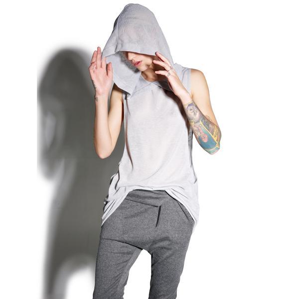 MNML Slate Hallucinations Hooded Tank