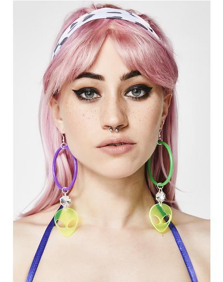 Alien Grunge Earrings
