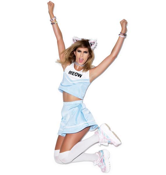 Do Ya Want Meow? Cheerleader Skirt Set