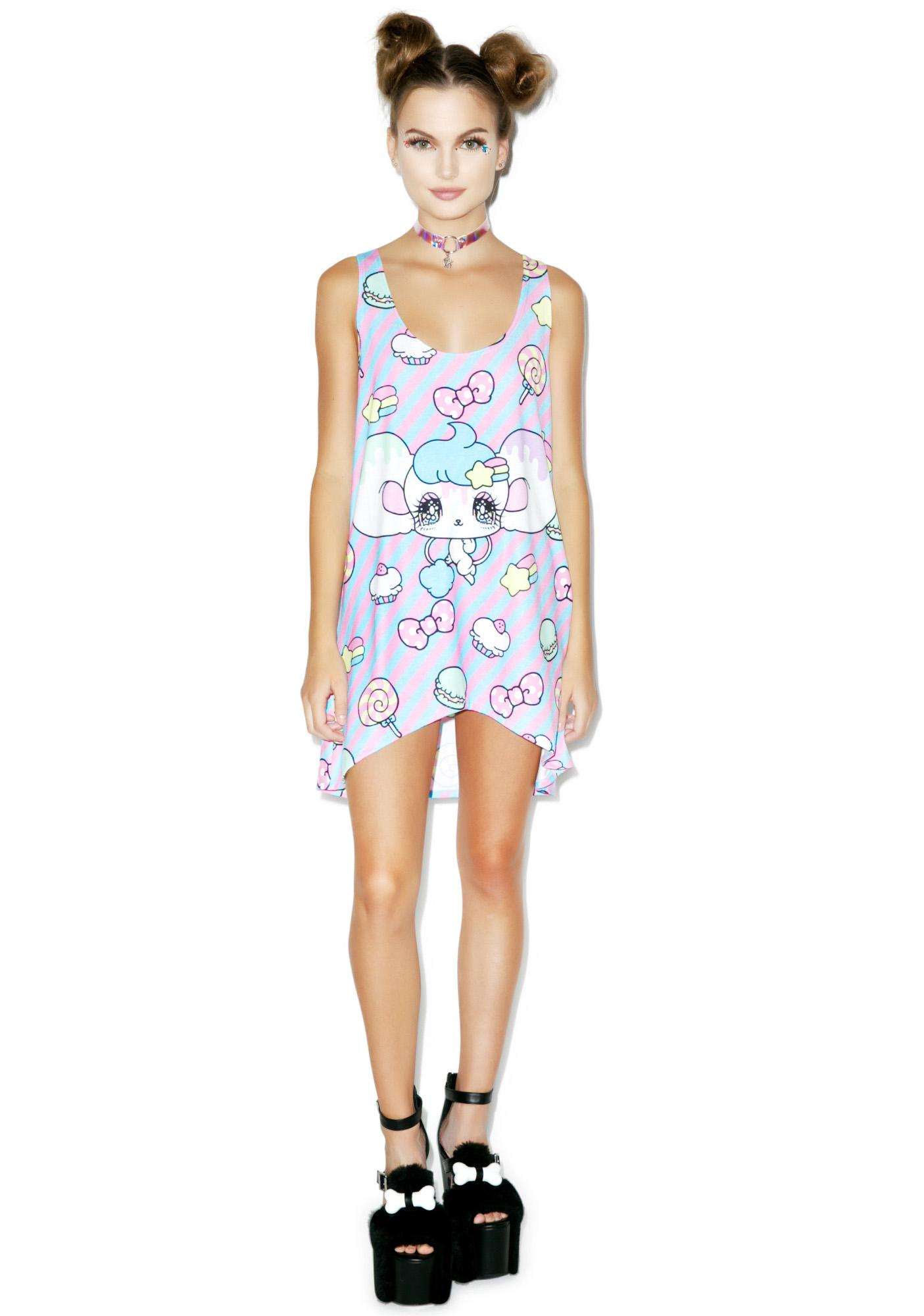 Japan L.A. Melo Sweet Tunic Tank Top