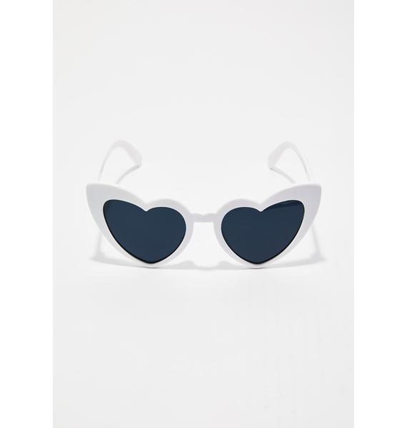 Ice Love Me Heart Sunglasses