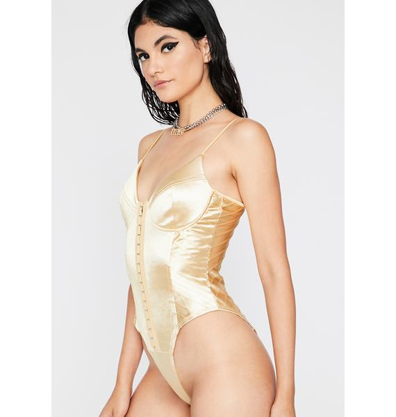Skip The Foreplay Cami Bodysuit