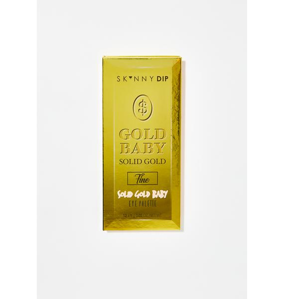 Skinnydip Gold Baby Solid Gold Eyeshadow Palette