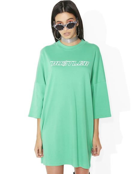 Dollar T-Shirt Dress
