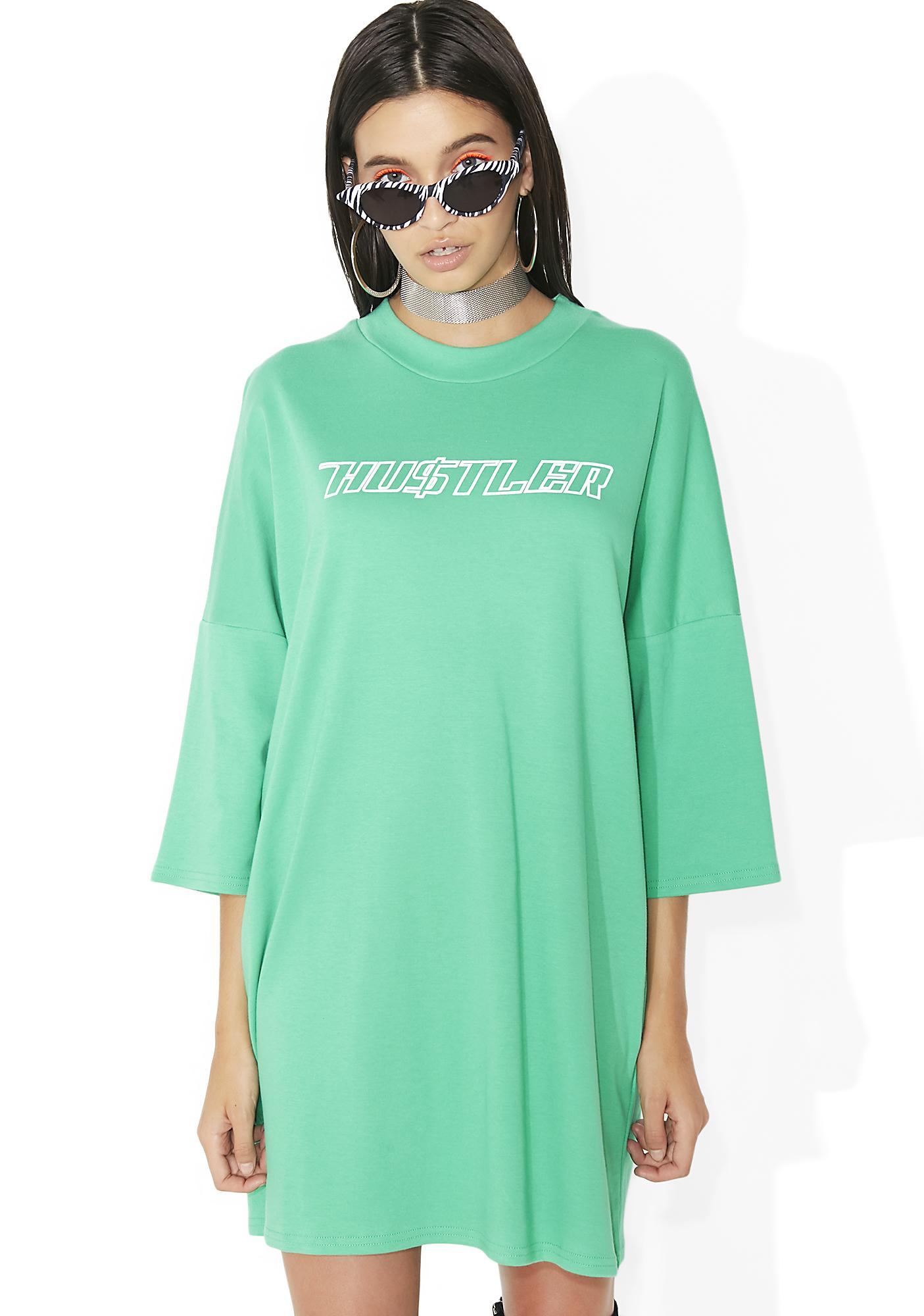 The Ragged Priest Dollar T-Shirt Dress
