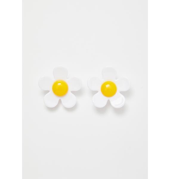 Sunny Side Daisy Earrings
