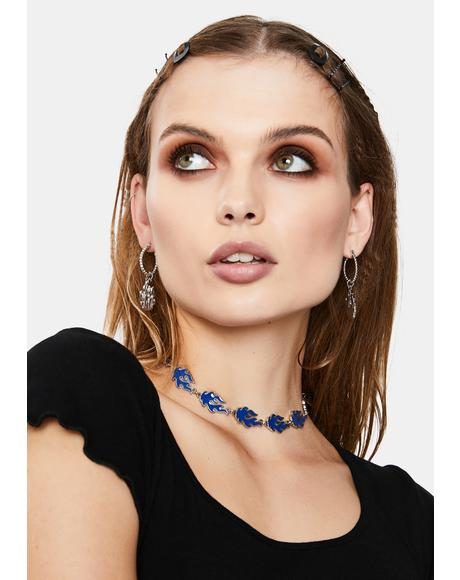Blaze It Chain Choker