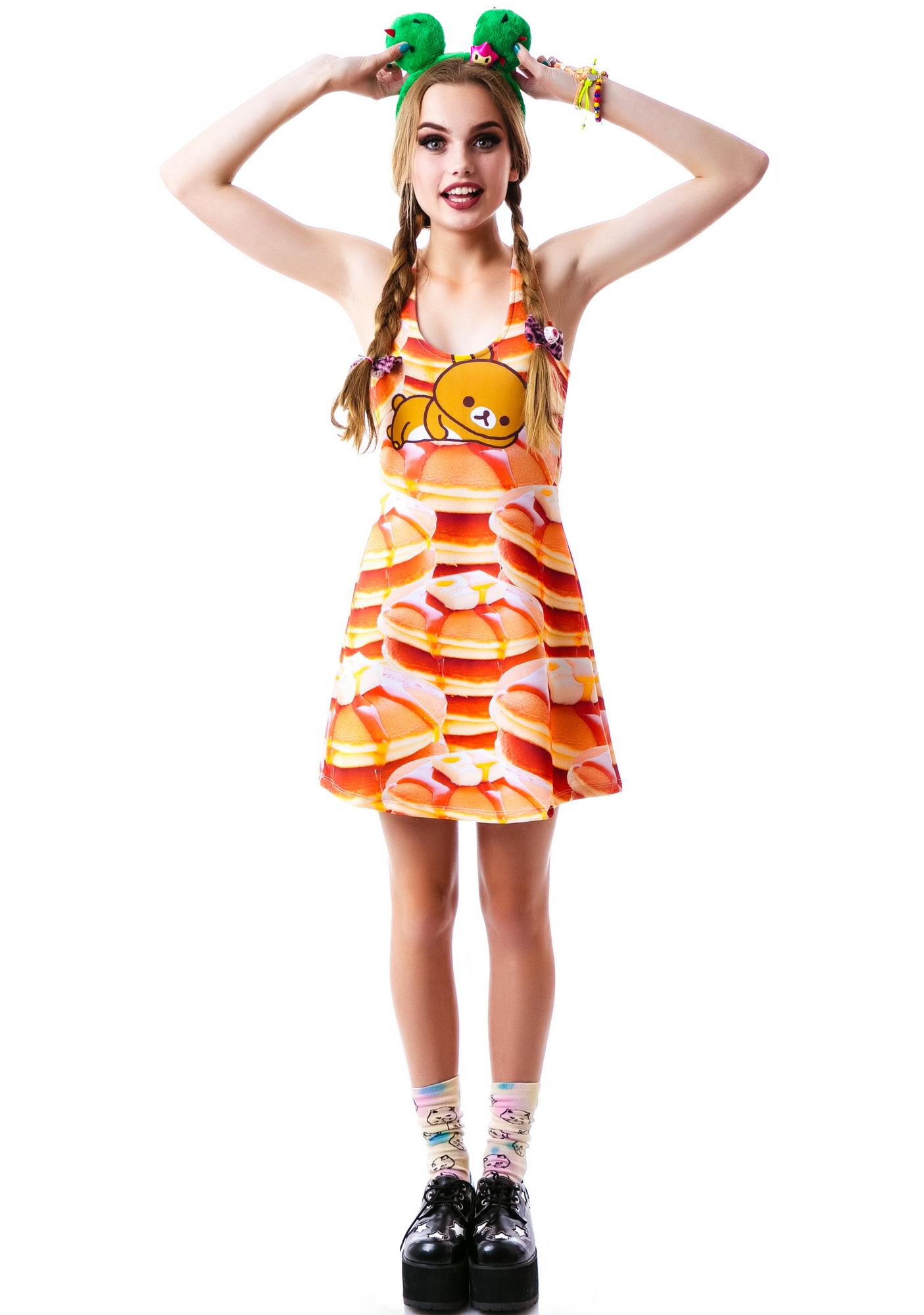 Japan L.A. Rilakkuma Pancakes Dress