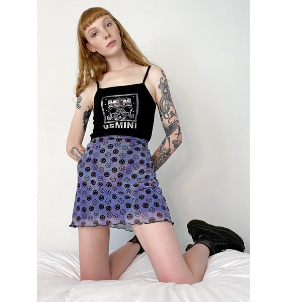 HOROSCOPEZ Mind Games Mini Skirt