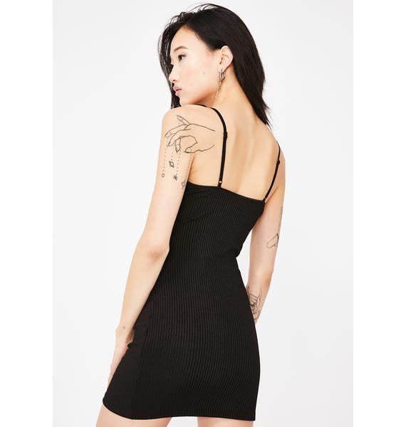 Kiki Riki Deadly Attraction Mini Dress