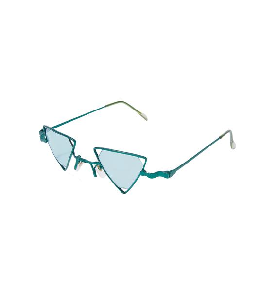 Trilogy Triangle Sunglasses