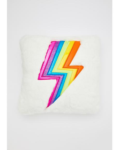 Vivid Dreaming Furry Pillow