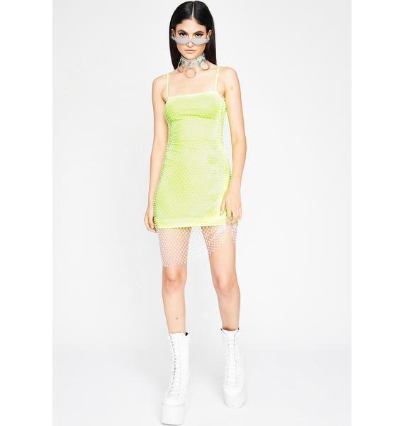 Mega Glam Mini Dress