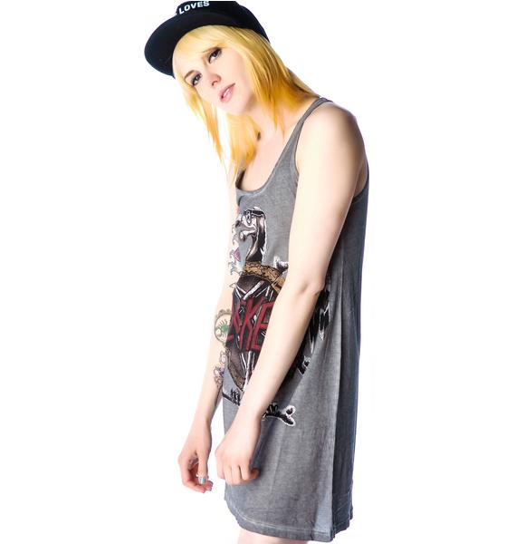 Disturbia Slacker Tank Dress