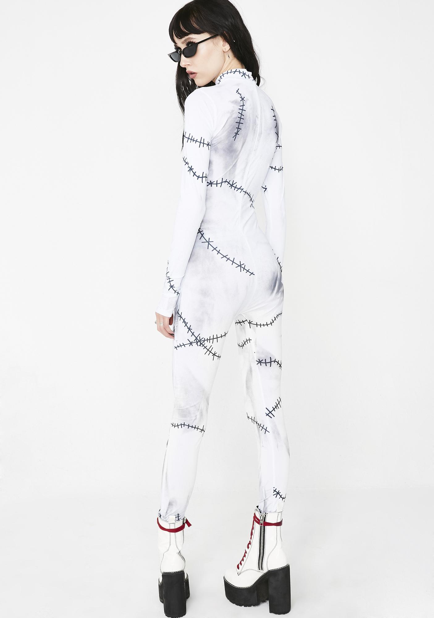 Dolls Kill Fame Monster Catsuit Costume
