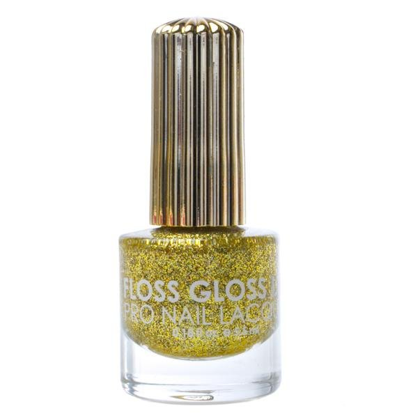 Floss Gloss Stun Gold Holographic Nail Polish