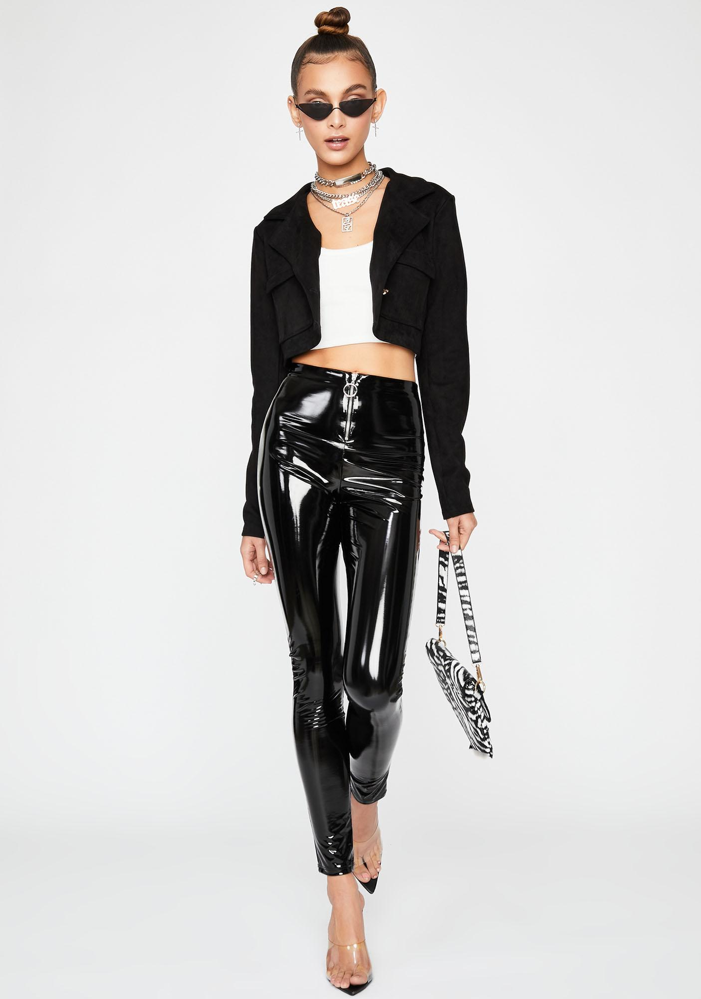 Get With It Cropped Jacket