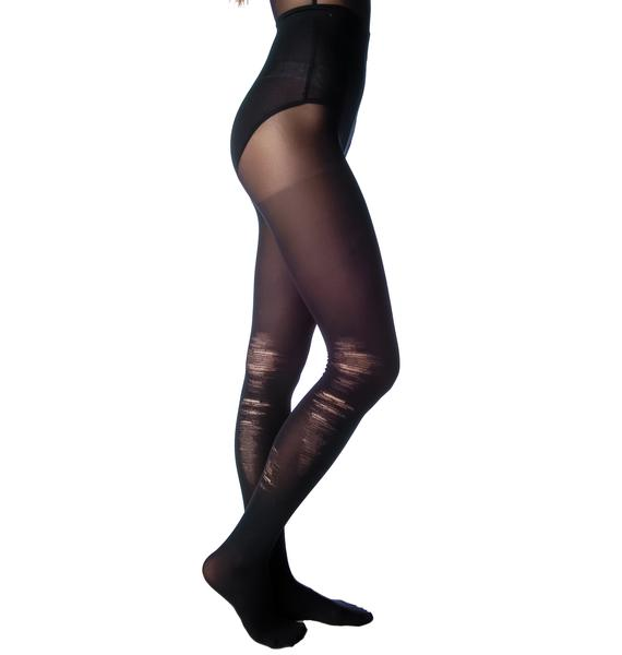 Pretty Polly Rebellious Shredded Tights