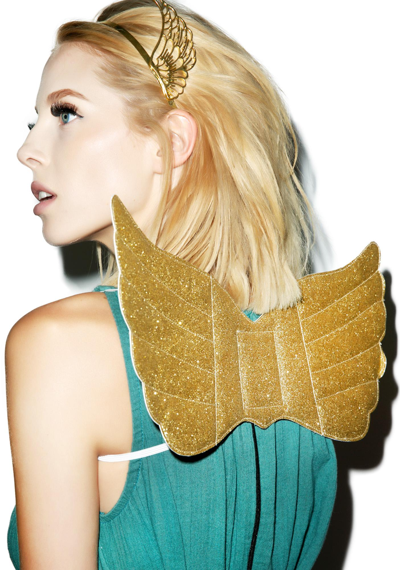 Golden Goddess Wings