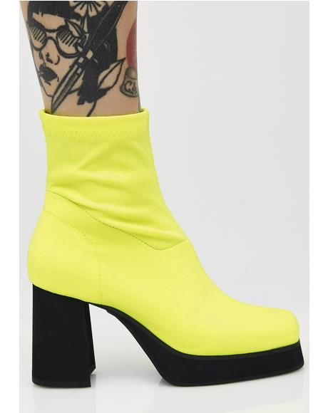 Neon Tension Boots