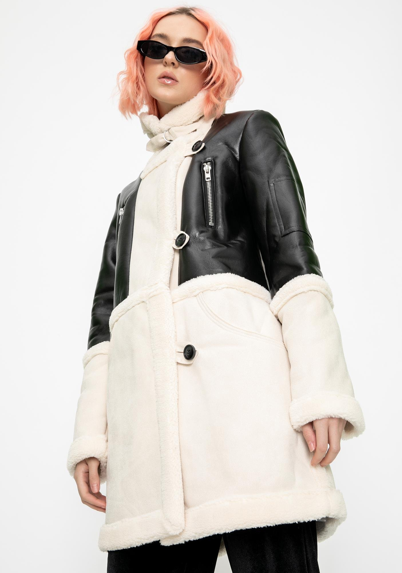 Bold Intentions Suede Coat