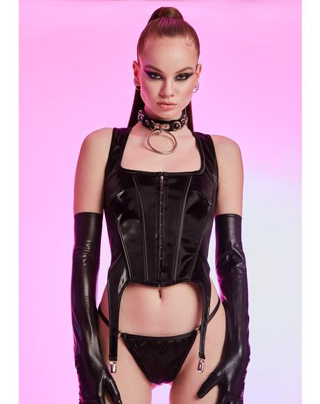 After Hours Gossip Corset Top