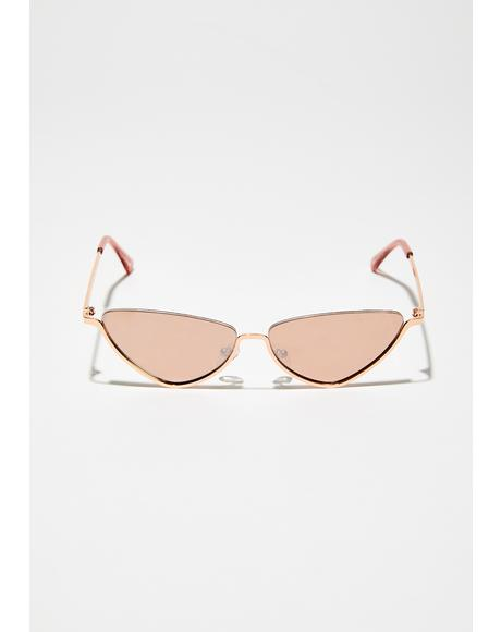 Reign Dance Cat-Eye Sunglasses