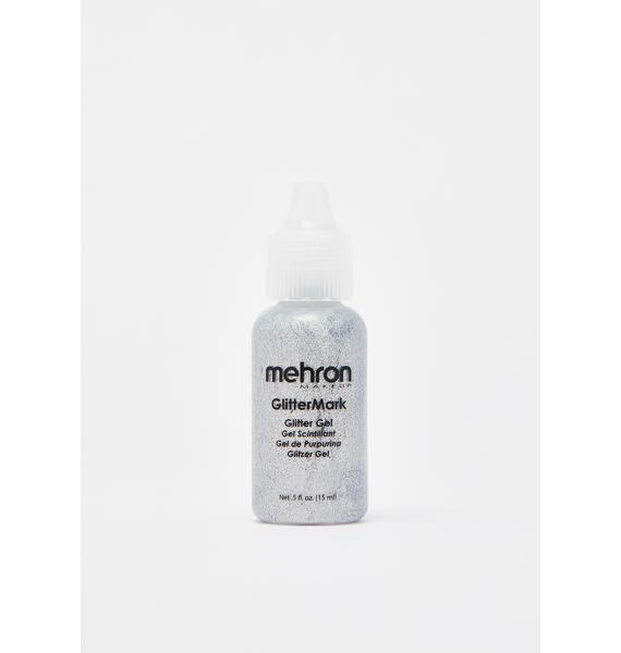 Mehron Silver Glitter Mark Gel