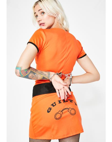 Solitary Confinement Prisoner Costume
