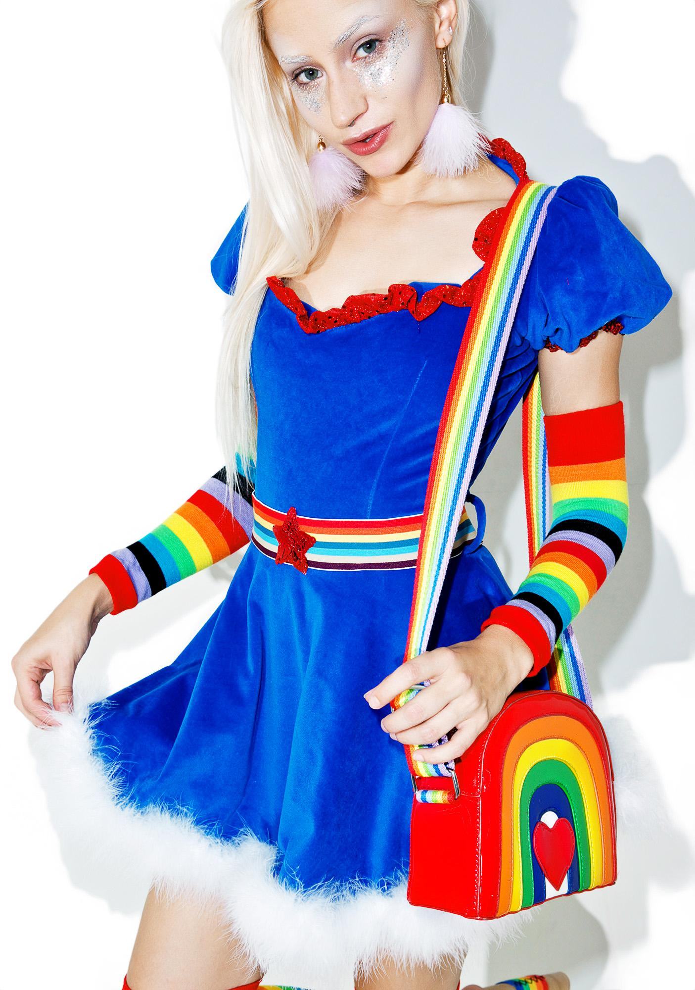 Amazoncom: rainbow brite costume: Clothing, Shoes & Jewelry