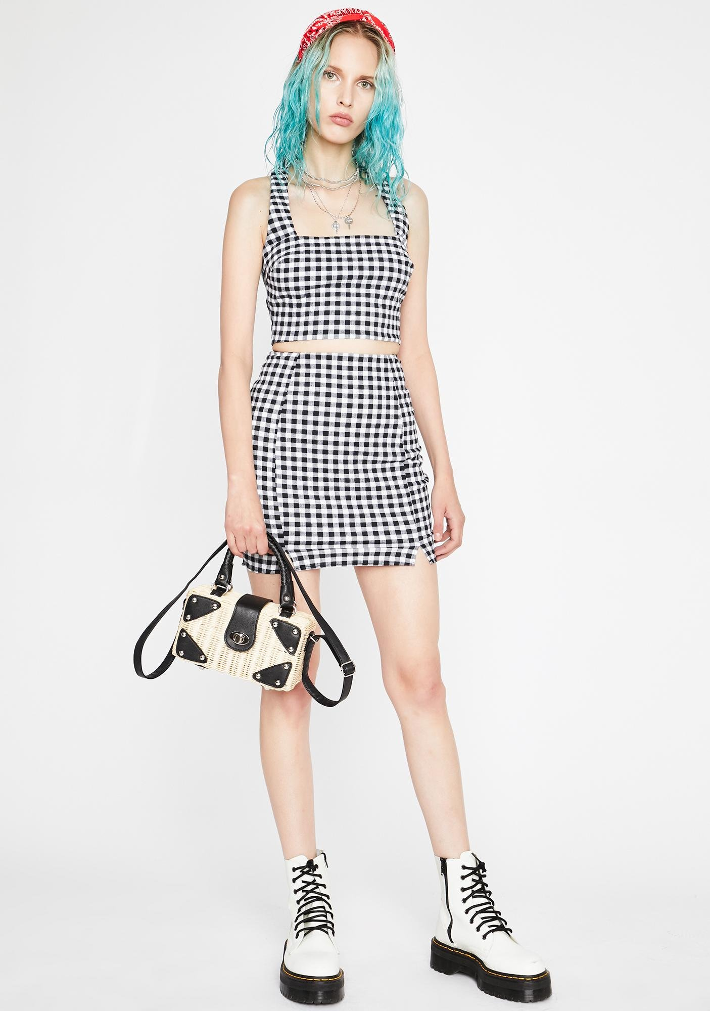 Summer In The Hamptons Gingham Set