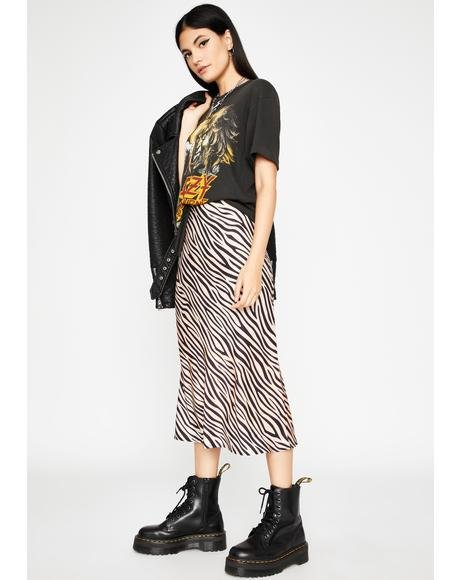 Always Wild Midi Skirt