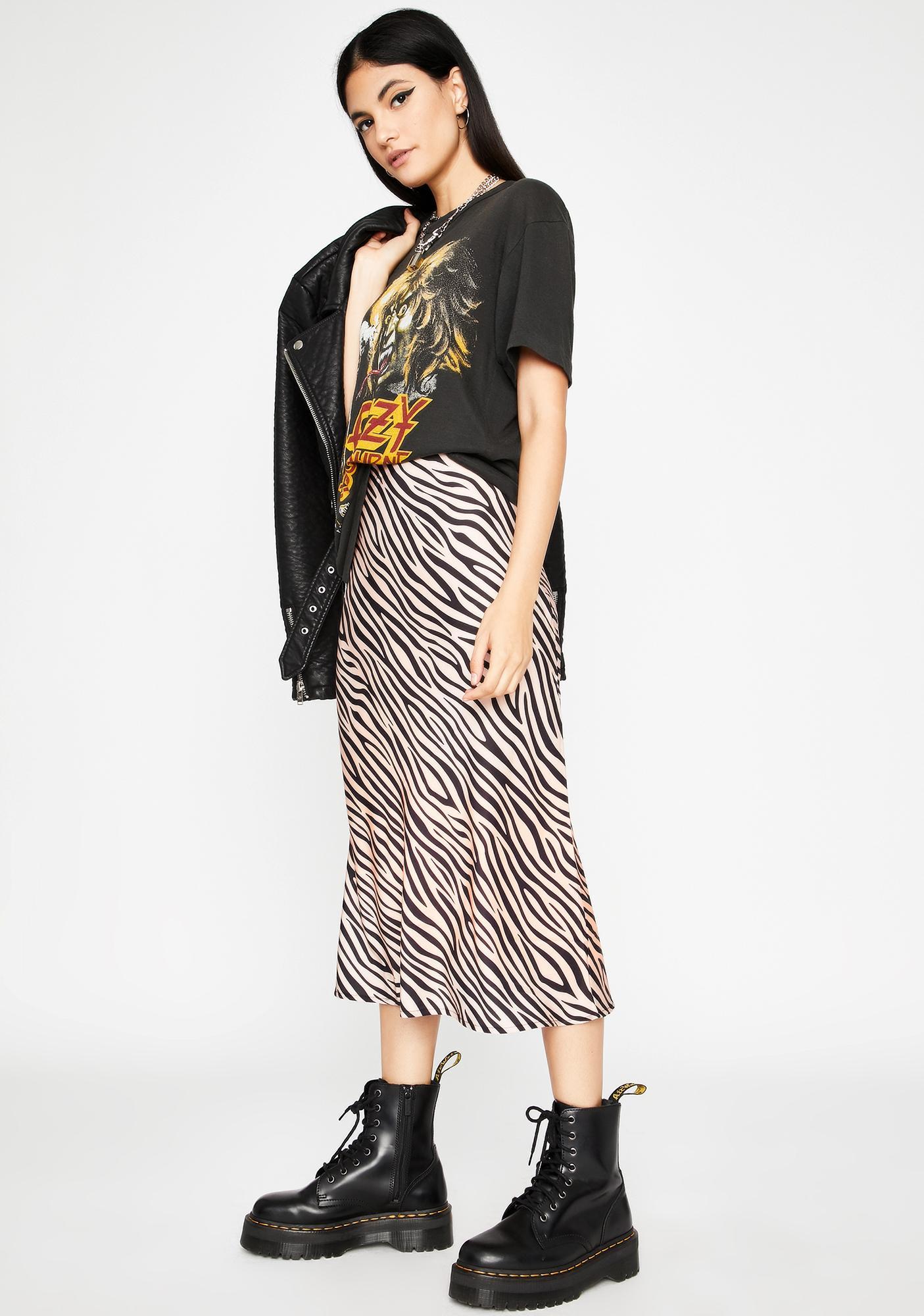 Always Wild Midi Skirt