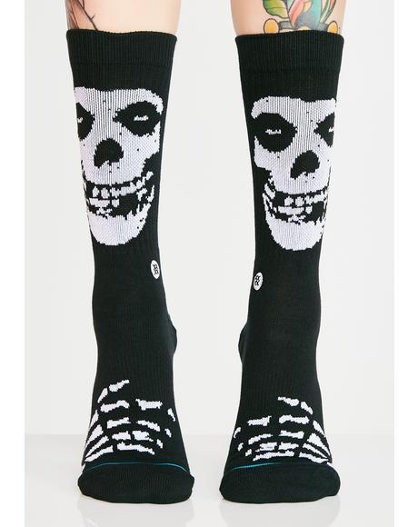 Misfits Crew Socks