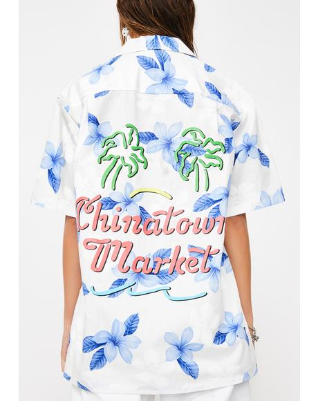 Palm Tree Hawaiian Shirt