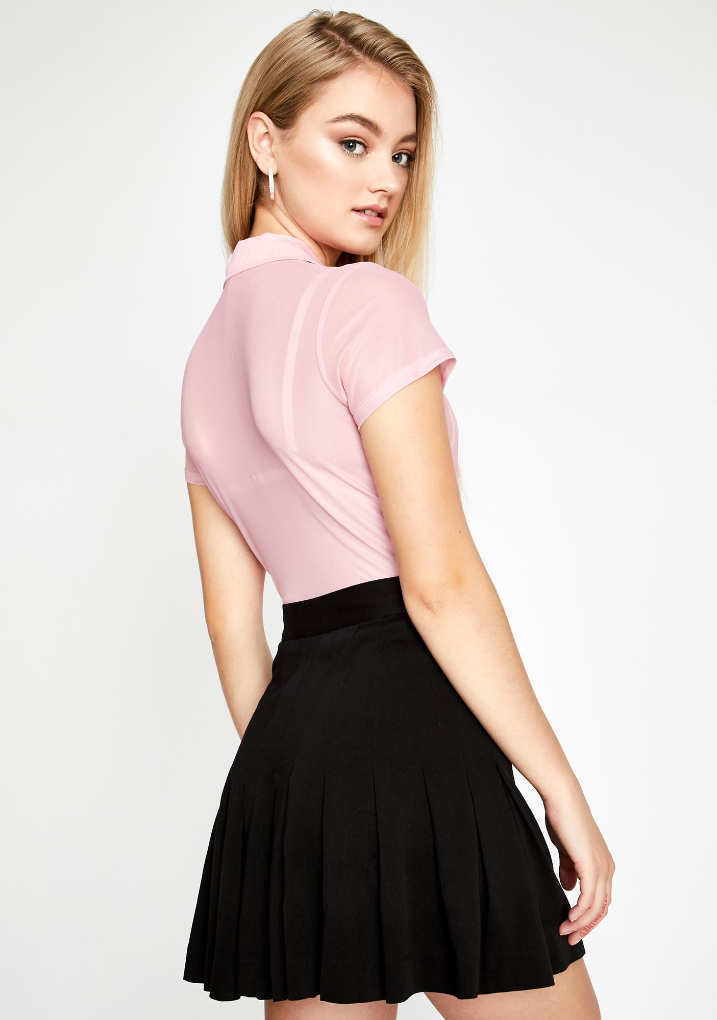 Sugar Thrillz A-Plus Preppie Mini Skirt