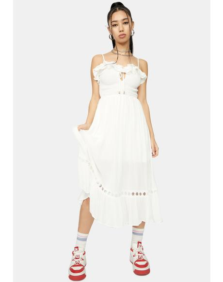 Take Me Far Away Midi Dress