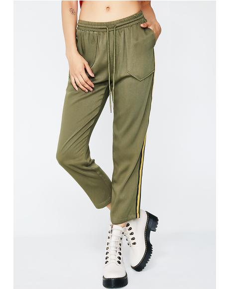 Kick Back Striped Pants